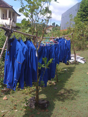 Gi's drying